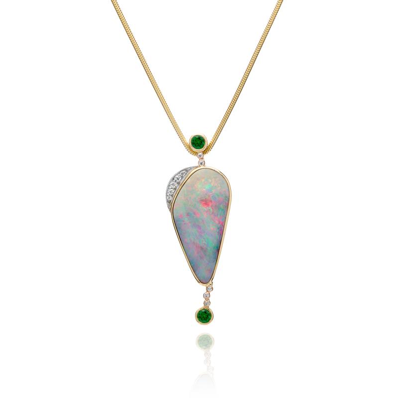 Boulder Opal Pendant 241-10214