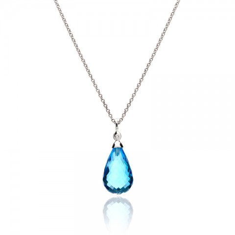 Birthstones by month what is your birthstone cary nc raleigh nc blue topaz pendant 241 10205 aloadofball Gallery