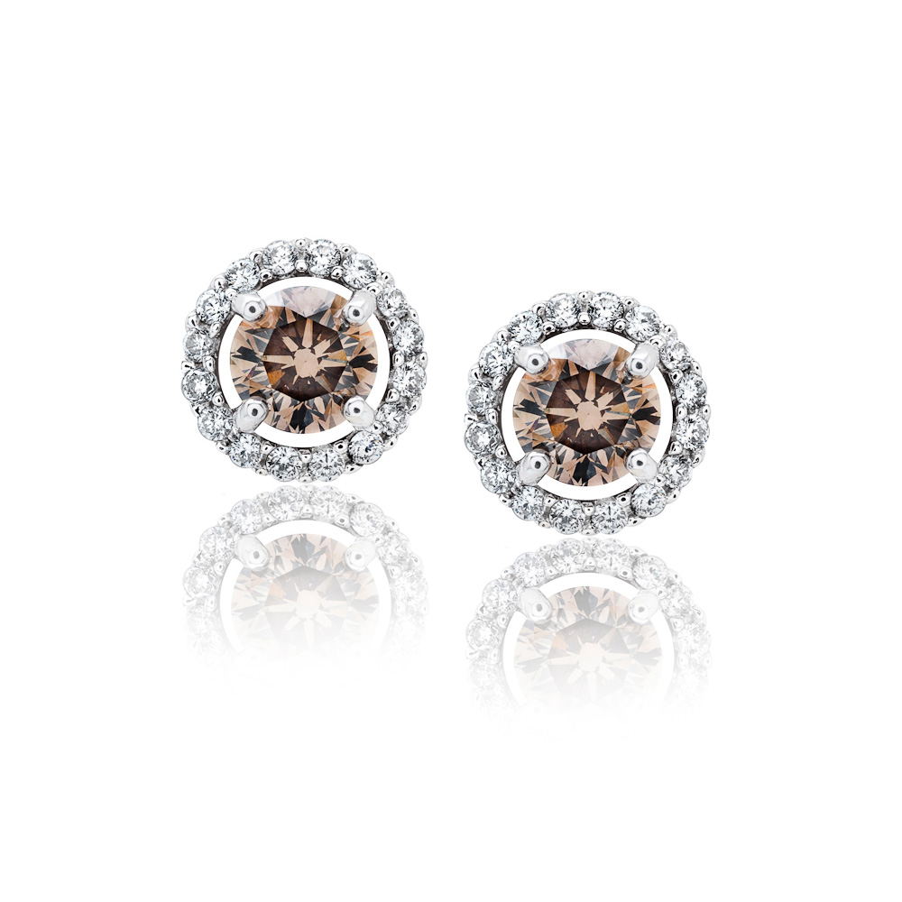 Diamond Earrings Raleigh | Diamond Stud Earrings Cary | Diamonds