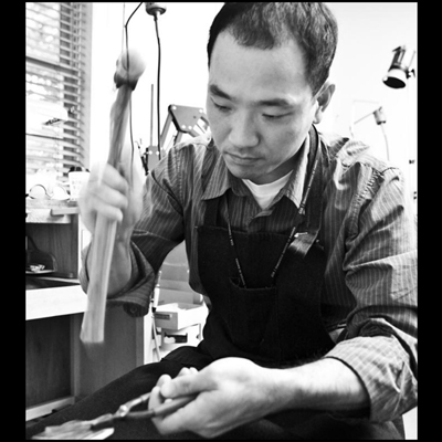 Hand Fabrication of and Engagement Ring