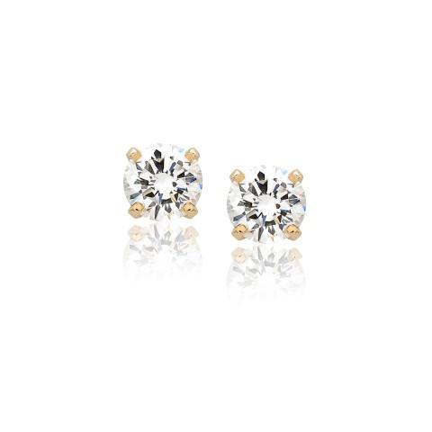 Diamond Stud Earrings 121-10100