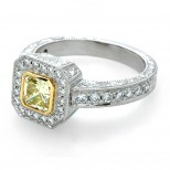 The Ester Yellow Diamond Ring