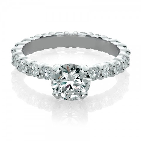 Eternity Diamond Engagement Ring 171-10111 (4)