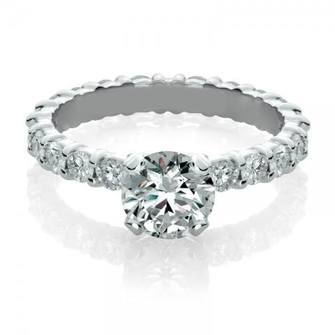 Eternity Diamond Engagement Ring 171-10111 (4)