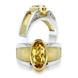 Golden Beryl Rings