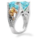 Roseeood Aquamarine Ring-1