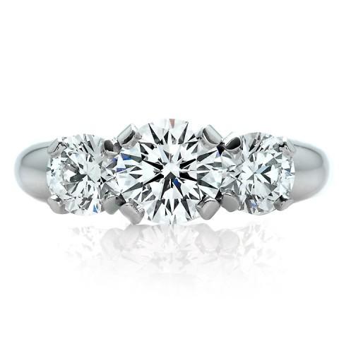Three Stone Diamond Engagment Ring 900-00061