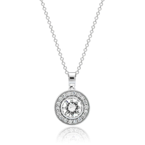 Holiday Gift Guide Diamond Pendant