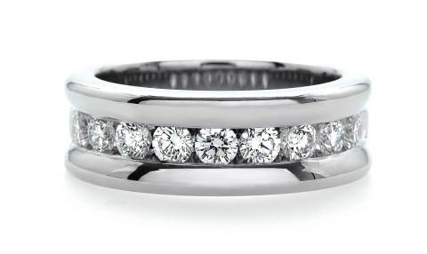 Channel Set Diamond Band 109-10236 (2)