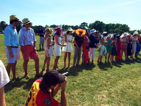 Polo Match Hat Contest