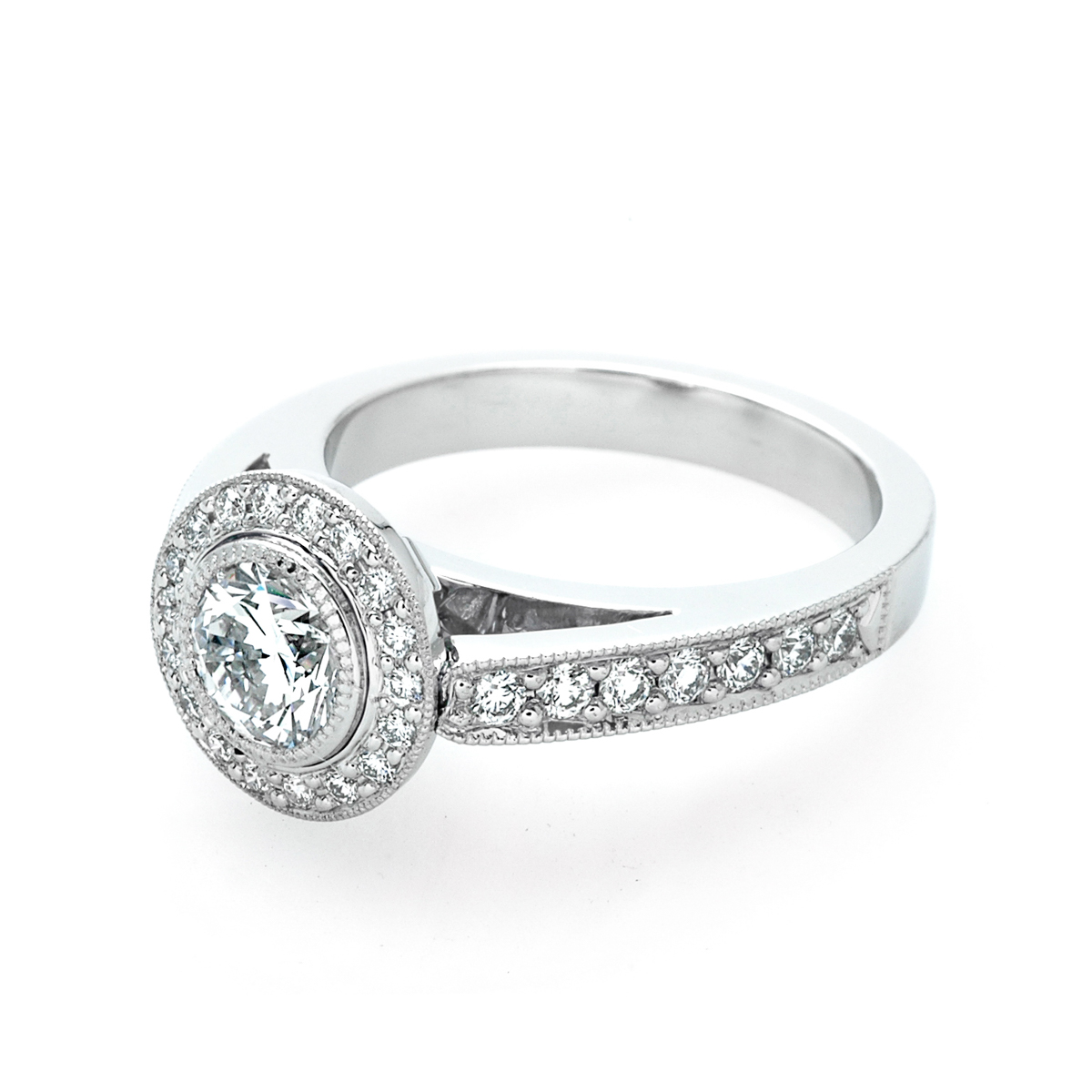 Galaxy wedding rings